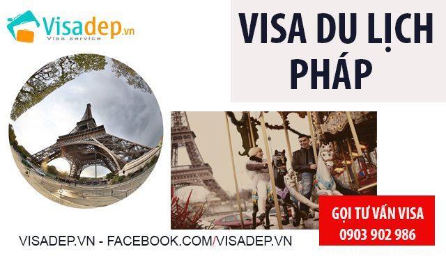 Visa Pháp Du Lịch