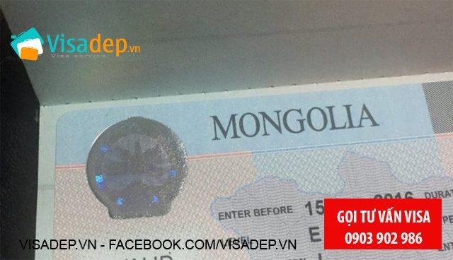 Visa Mông Cổ