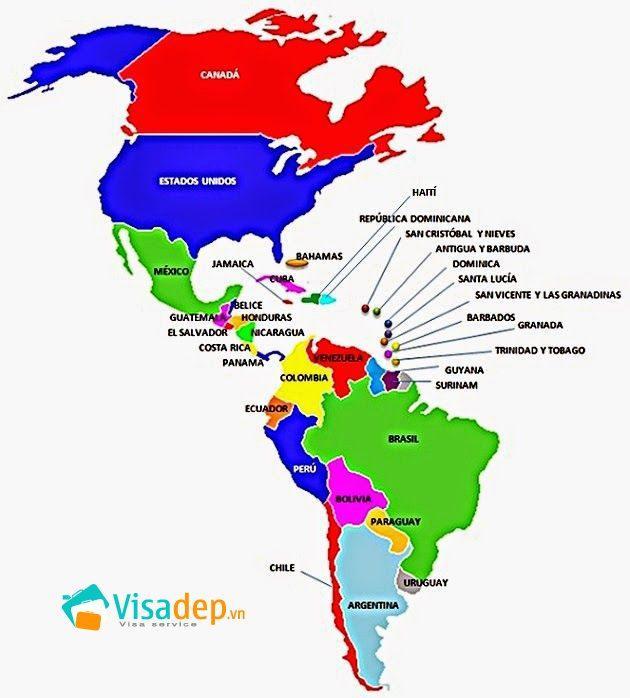 visa châu mỹ