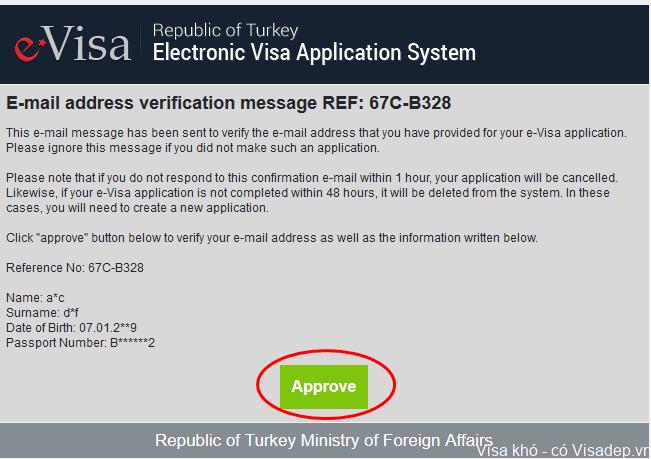 Hướng dẫn điền đơn xin visa Thổ Nhĩ Kỳ online dễ dàng - Visadep vn