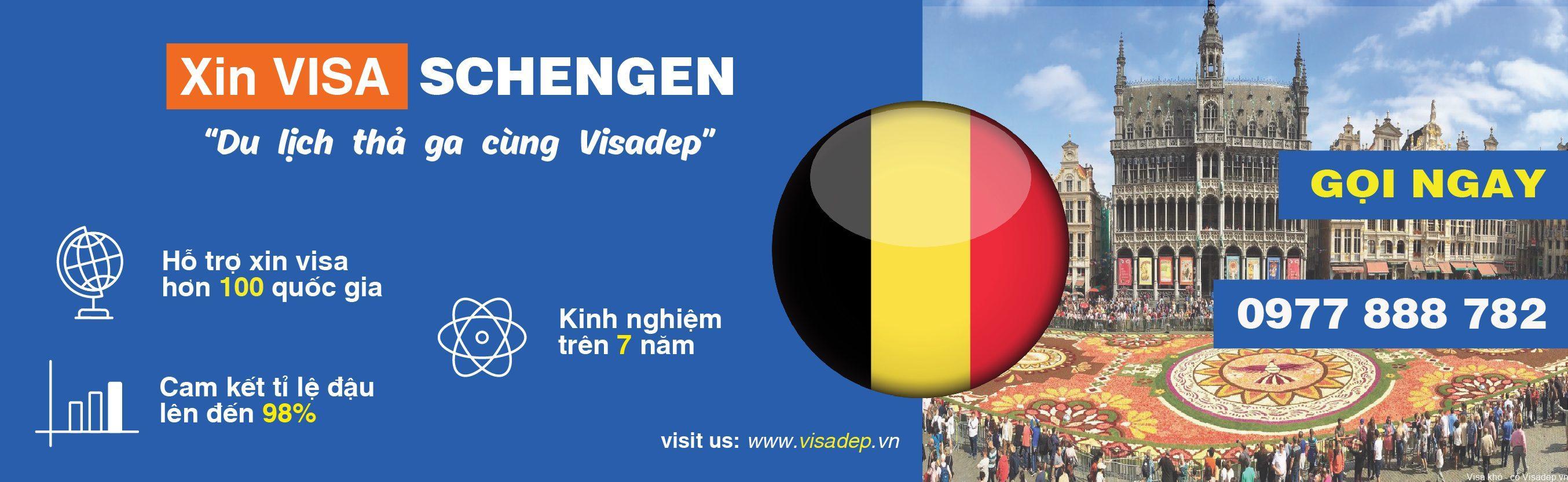 Dịch vụ xin visa bỉ