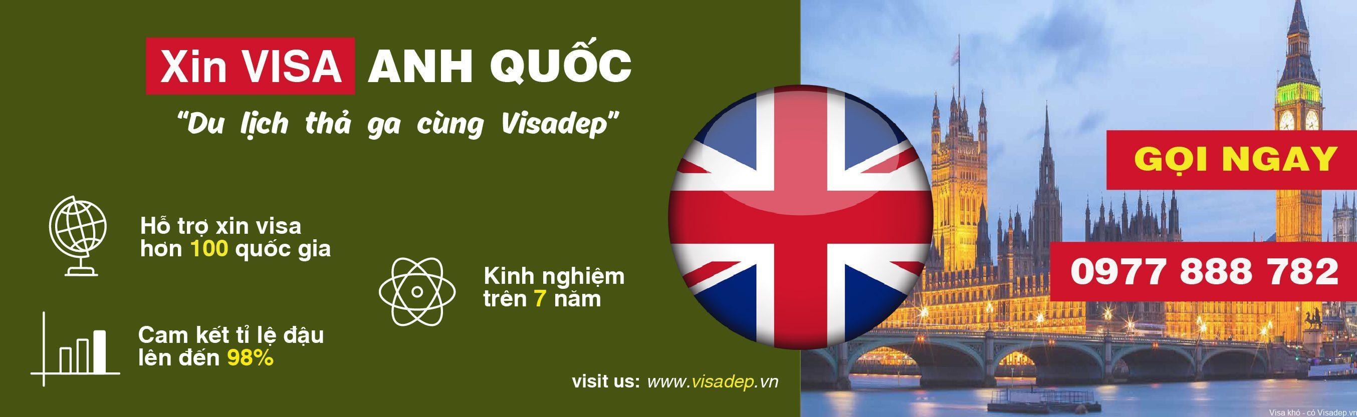 dịch vụ làm visa đi Anh QUốc