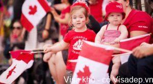 Sinh con ở CANADA có được nhập quốc tịch không