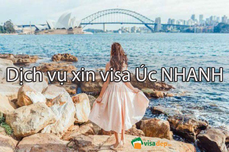 Dịch vụ làm visa đi úc