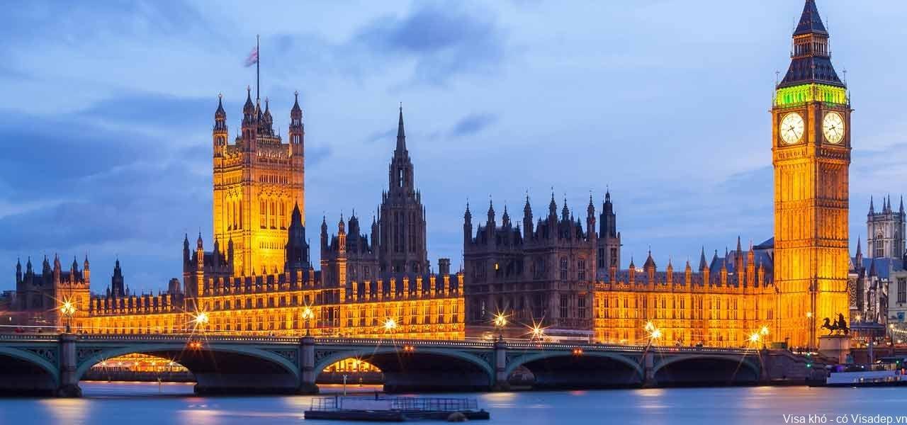 Dịch vụ làm visa đi Anh Quốc trọn gói