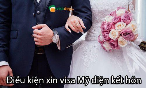 Điều kiện xin visa Mỹ diện kết hôn