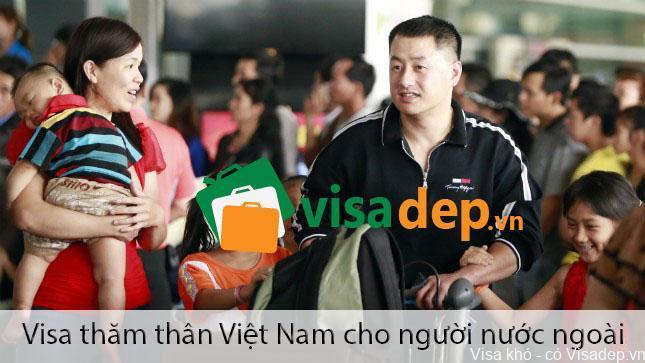 thủ tục xin visa thăm thân cho người nước ngoài vào việt nam