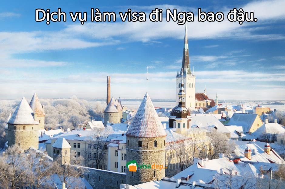 dịch vụ làm visa đi nga