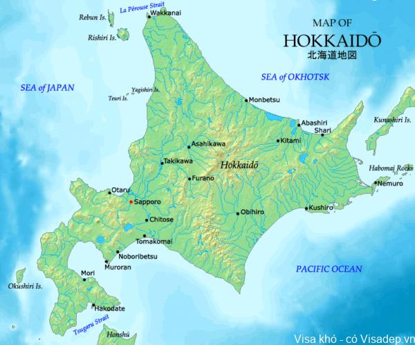danh sách 47 tỉnh thành phố nhật bản