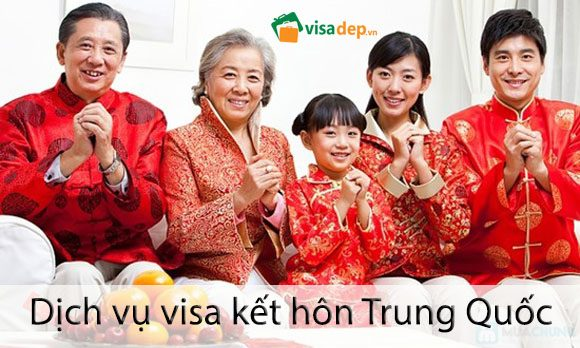 dịch vụ làm visa kết hôn trung quốc