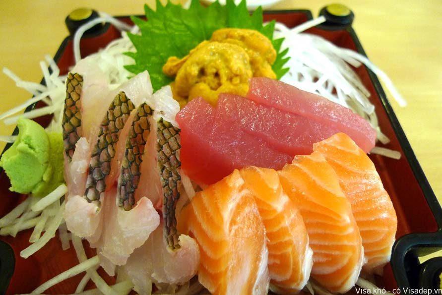 Món ăn truyền thống ở Nhật Bản