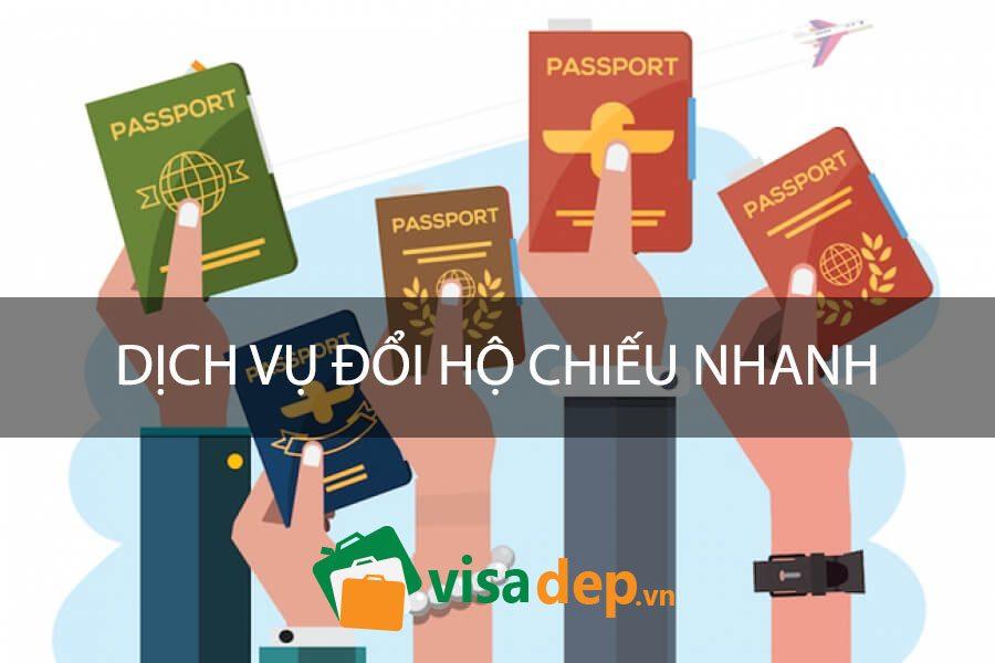 đổi hộ chiếu