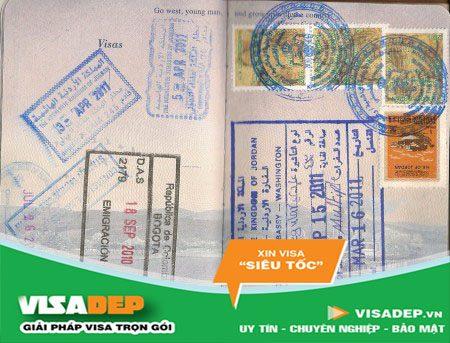 dịch vụ làm visa jordan trọn gói