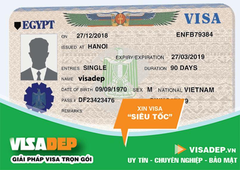 dịch vụ làm visa ai cập trọn gói