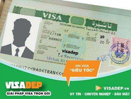 dịch vụ lam visa maroc trọn gói