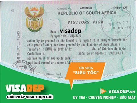 dịch vụ làm visa nam phi trọn gói