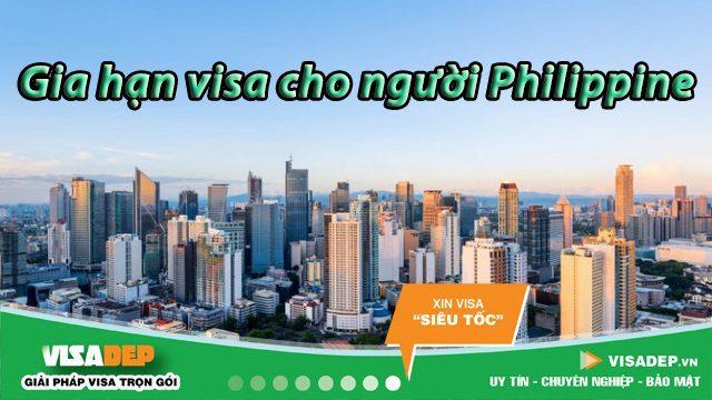 dịch vụ gia hạn visa việt nam cho người philippines