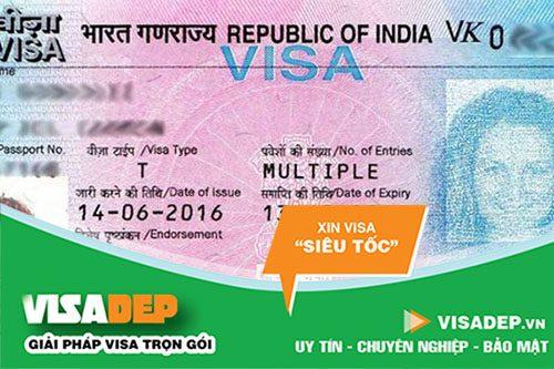 dịch vụ làm visa ấn độ trọn gói