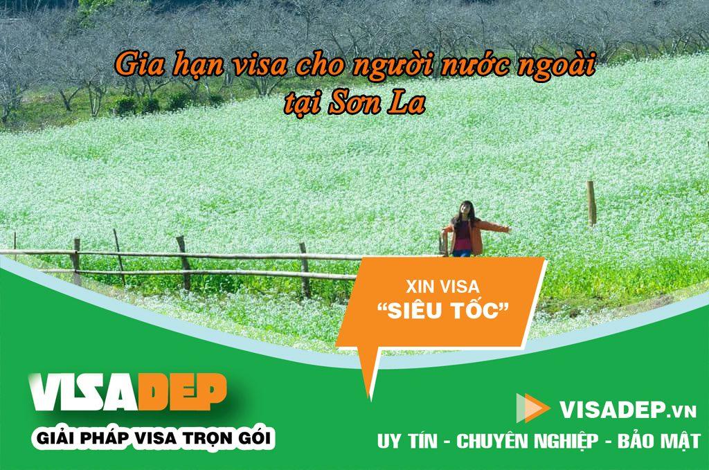 Gia hạn visa cho người nước ngoài tại Sơn La