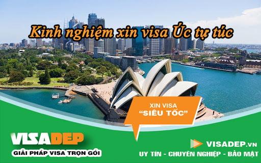 kinh nghiệm xin visa úc tự túc 2020 mới nhất