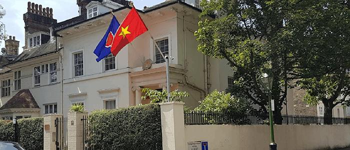 đại sứ quán việt nam tại anh