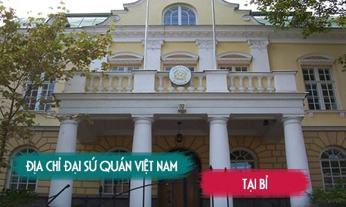 Đại sứ quán Việt Nam tại Bỉ