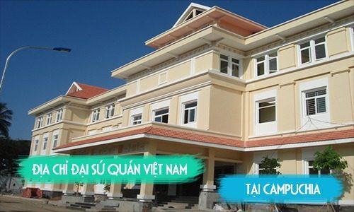 Đại sứ quán Việt Nam tại Campuchia