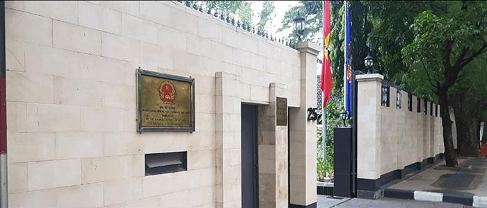 Đại Sứ Quán Việt Nam tại Jakarta, Indonesia