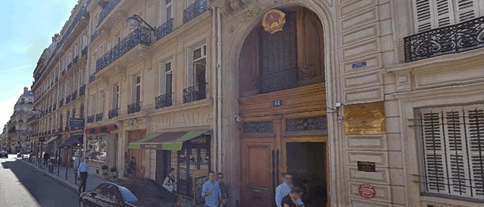 Đại sứ quán Việt Nam tại Pháp