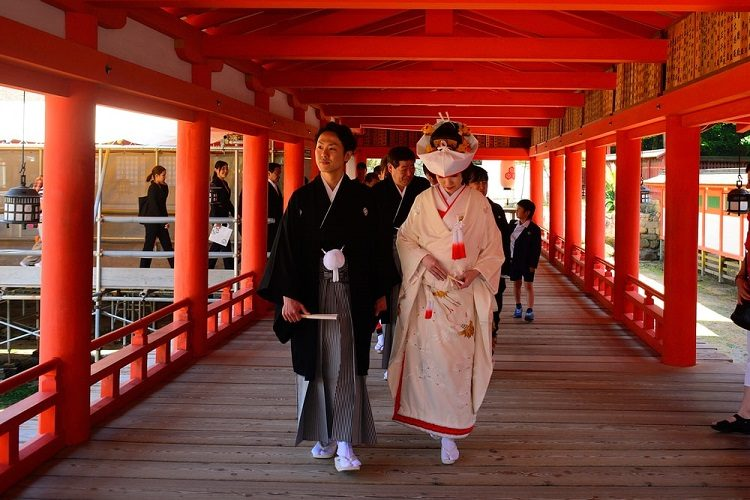 Nghi thức thành hôn của người Nhật