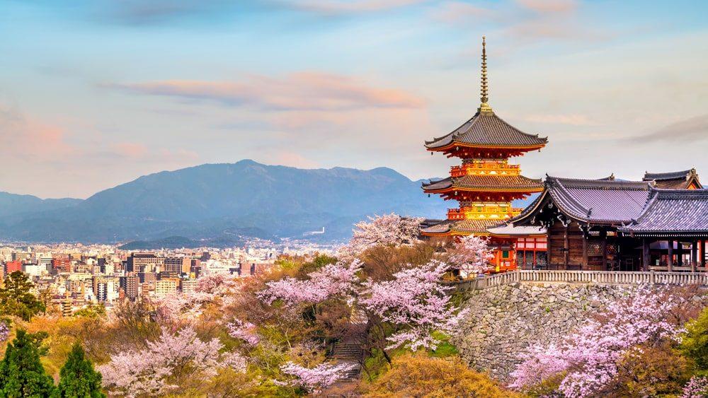 Các thành phố đẹp nhất ở Nhật Bản
