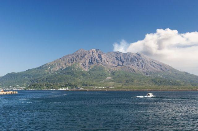 Những ngọn núi lửa ở Nhật Bản
