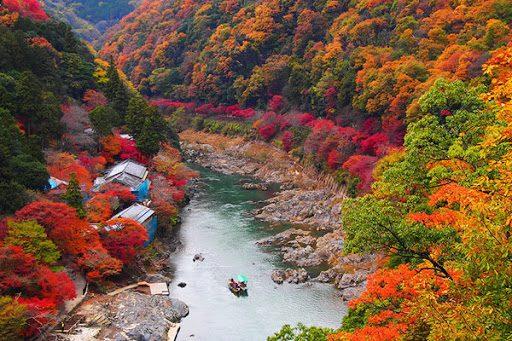 Nơi nào đón mùa thu sớm nhất Nhật Bản?