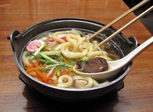 Các loại mì Udon Nhật Bản